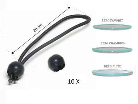 Picture of Set elastice prindere  protectie arcuri trambulina (10 buc)
