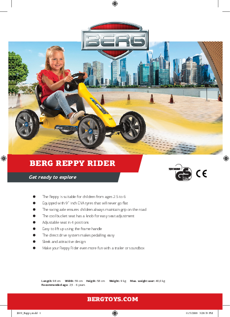 Picture of Kart BERG Reppy Rider