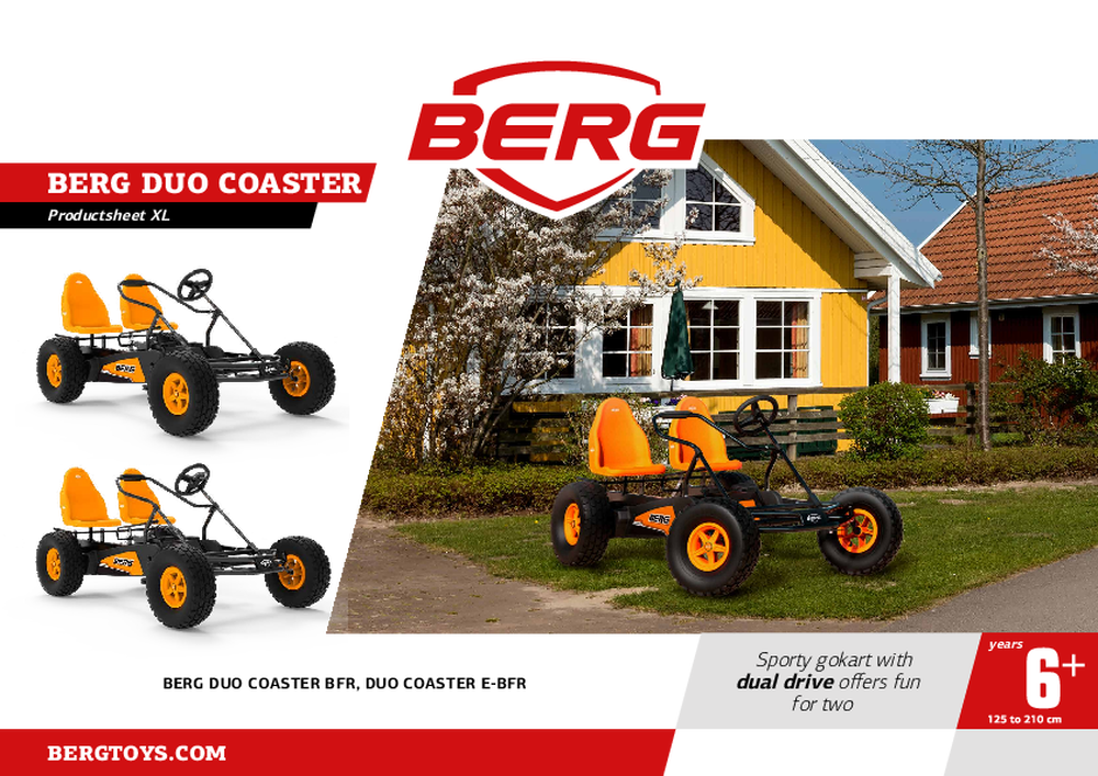 Picture of Kart BERG Duo Coaster BFR